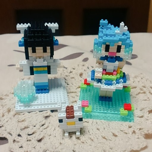 プラモブロック水晶雫