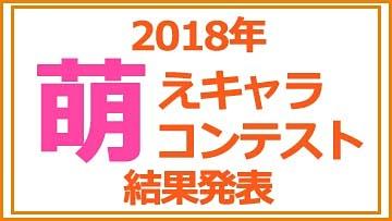 「アキバで見かけた萌えキャラコンテスト 2018」4位!!